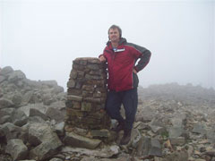 Scawfell Picke summit