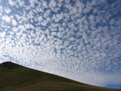 Clouds above Blencathra